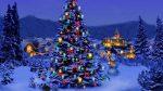 Rientrare a casa con l'albero di Natale sotto braccio